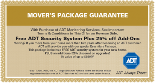 Mover's Package Guarantee
