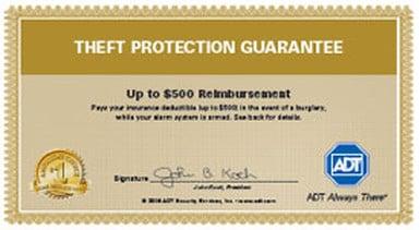 Theft Protection Guarantee